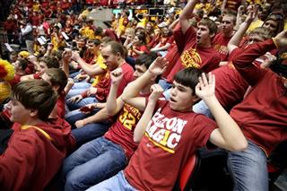 Oklahoma St Iowa St Basketball
