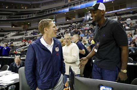 Mark Few, Chris Webber