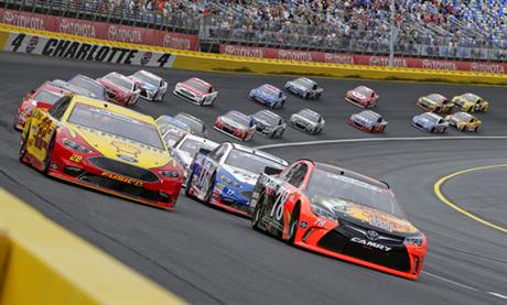 NASCAR Charlotte Extra Stage Auto Racing