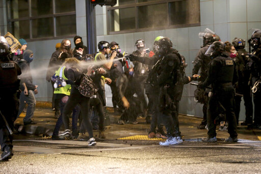 Oregon governor sends state police to Portland for prot...