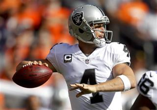 Raiders Carr Football