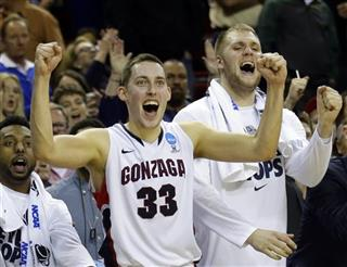 NCAA Iowa Gonzaga Basketball