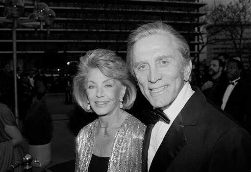 The gallery for --> Kirk Douglas 2014