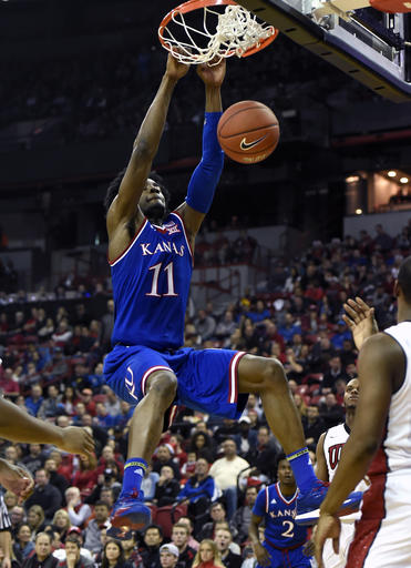Kansas UNLV Basketball