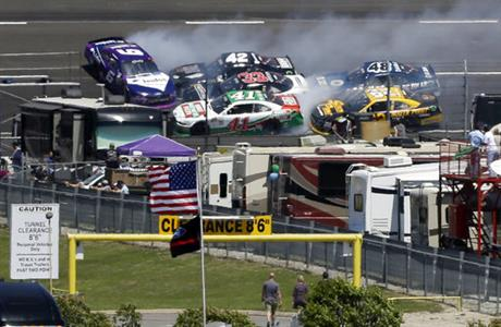 Darrell Wallace Jr., Kevin Harvick, Brandon Jones, Tyler Reddick, Brendan Gaugh, Brennan Poole