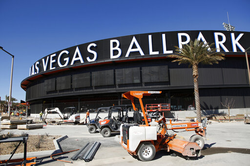 Minor league in name only, new Las Vegas ballpark opens