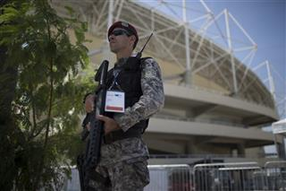 APTOPIX Brazil OLY Security