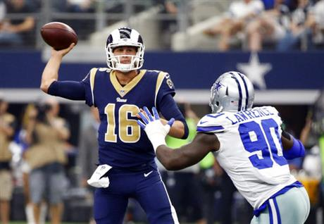 Jared Goff, DeMarcus Lawrence
