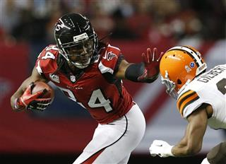 Roddy White,Justin Gilbert