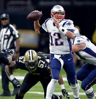 Tom Brady, Alex Okafor
