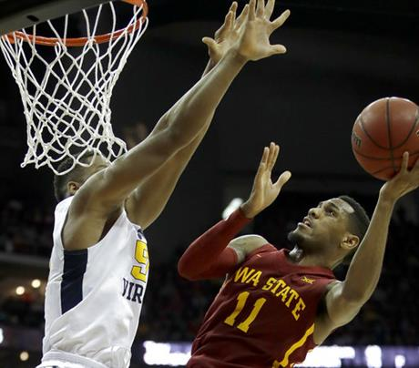 B12 Iowa St West Virginia Basketball