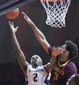 , (2) Minnesota's forward Jordan Murphy