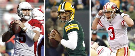 NFL Halfway Unexpected QBs Football