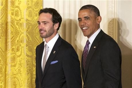 Barack Obama, Jimmie Johnson