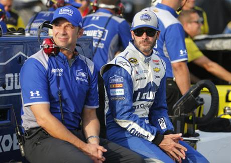 Jimmie Johnson, Chad Kanus