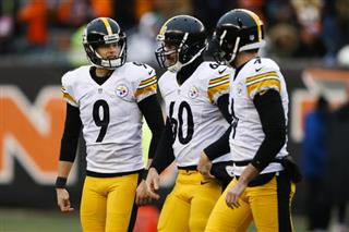 Chris Boswell, Greg Warren, Jordan Berry
