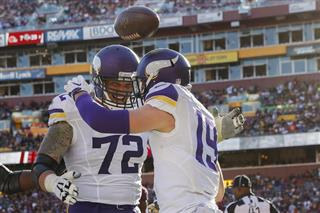 Adam Thielen, Jake Long