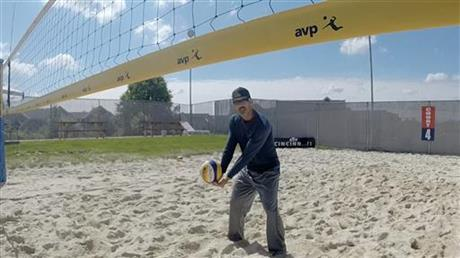 Beach Volleyball I Tried It