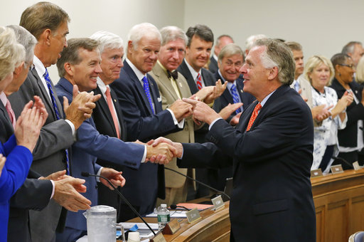 Virginia Gov  Terry McAuliffe reinvents image as state