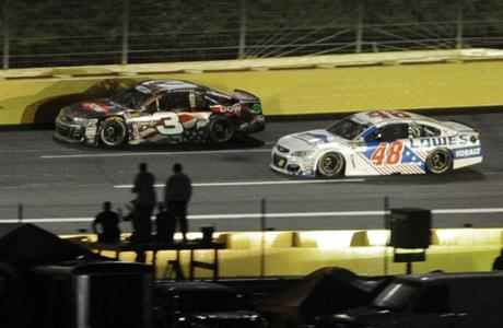 Austin Dillon, Jimmie Johnson