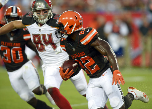 Jabrill Peppers, Cameron Brate