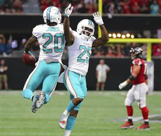 Dolphins Falcons Football