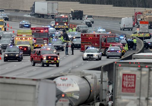 Records show the suspect killed in a highway shootout w
