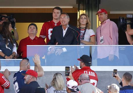 Dwight Clark, Edward DeBartolo Jr.