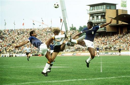 Soccer World Cup 1974 Brazil Vs Argentina 2 1