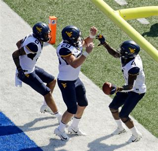West Virginia Kansas Football