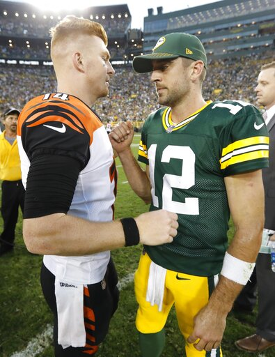 Bengals Packers Football