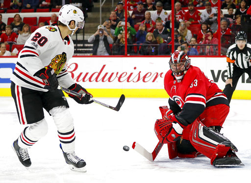 Brandon Saad, Scott Darling