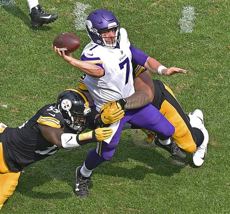 Vikings Steelers Football