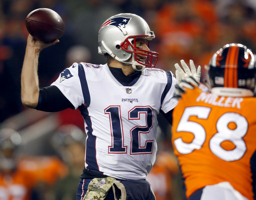 Patriots Broncos Footall