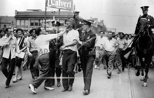 Image result for race related riot in detroit mi in 1943