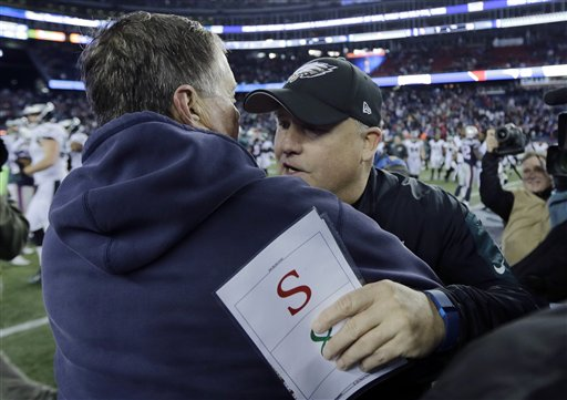 Bill Belichick, Chip Kelly