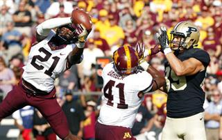 APTOPIX Minnesota Purdue Football