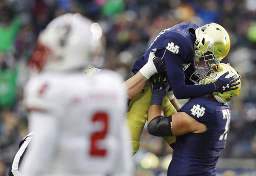 NC State Notre Dame Football