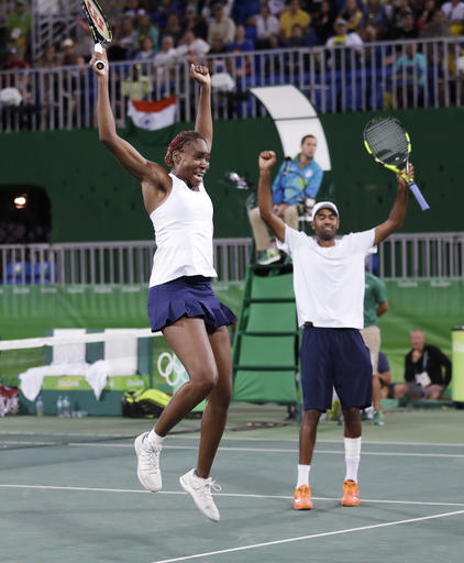 Venus Williams, Rajeev Ram