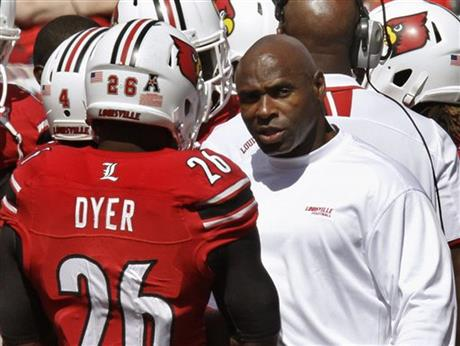 Charlie Strong, Michael Dyer