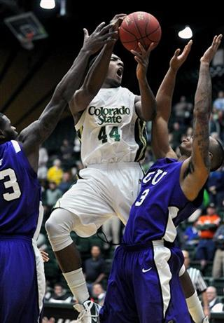 Colorado St TCU Basketball