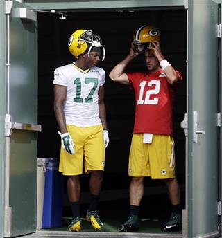Aaron Rodgers, Davante Adams