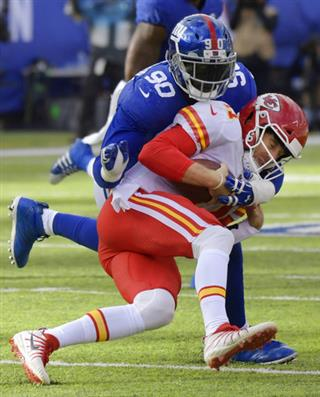 Alex Smith, Jason Pierre-Paul