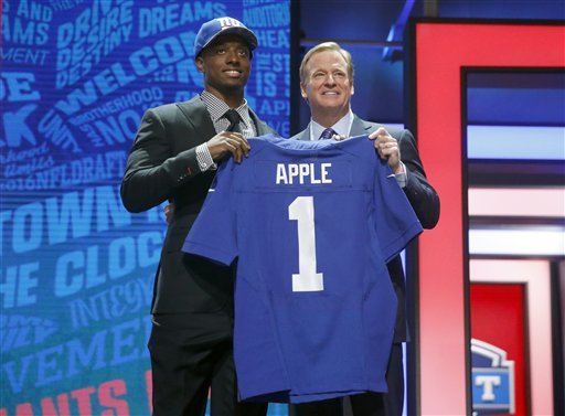 Eli Apple, Roger Goodell