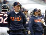 In this Sunday, Dec. 3, 2017  file photo, Chicago Bears head coach John Fox reacts as he watches the game during the second half of an NFL football game against the San Francisco 49ers in Chicago. The Bears play the Cincinnati Bengals on Sunday, Dec. 10,  2017. (AP Photo/Nam Y. Huh, File)