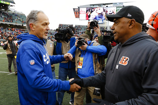 Chuck Pagano, Marvin Lewis