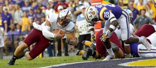 Troy LSU Football