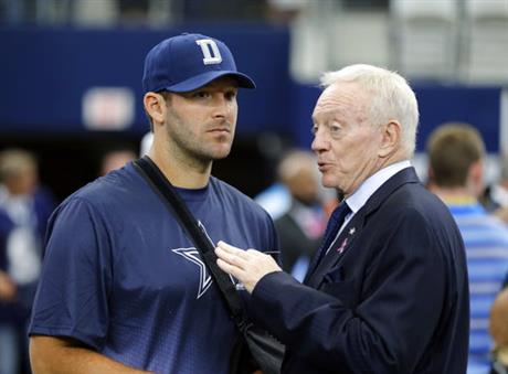 Tony Romo, Jerry Jones