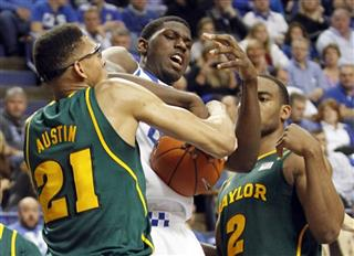 Alex Poythress, Isaiah Austin, Rico Gathers