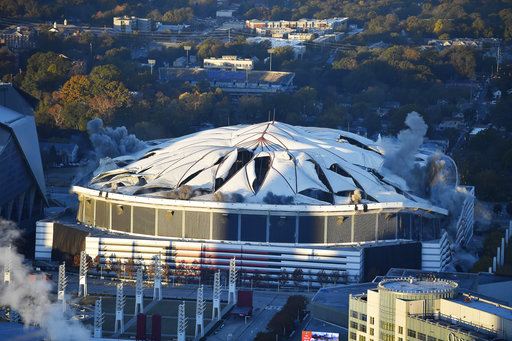 Georgia Dome Implosion